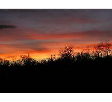 Super Bowl Sunset Photographic Print