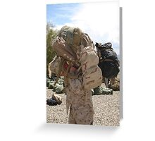 Welcome Home, Marines Greeting Card