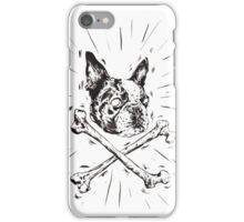 Pirate Boston Terrier Flag iPhone Case/Skin
