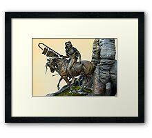 The Horseman Framed Print