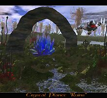 "Crystal Planet ""Ruins"" by Maylock"