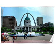 St. Louis Arch-Gateway to the West Poster