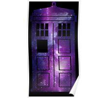 TARDIS Galaxy Poster