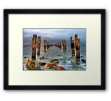 """Straight Through the Centre"" Framed Print"