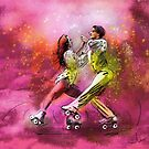 Artistic Roller Skating 01 by Goodaboom