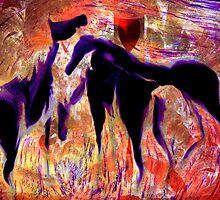 Horses 8 by helene