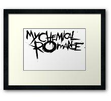 'My Chemical Romance' Logo Framed Print