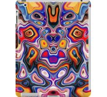 Faces In Abstract Shapes 3 iPad Case/Skin