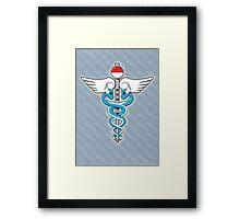 The Kanto Medical Service Framed Print