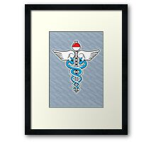 The Kanto Medical Service Framed Print