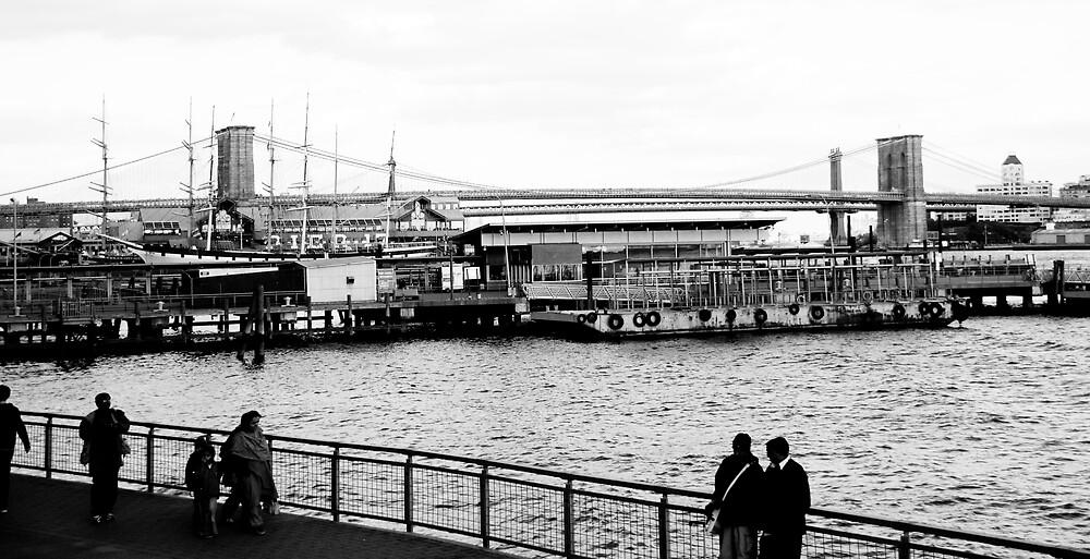 Brooklyn Bridge by CarloDC