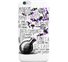 Mushrooms, popies, sugar and spice... iPhone Case/Skin