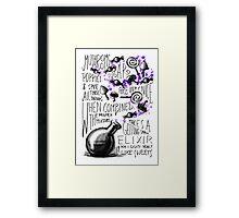 Mushrooms, popies, sugar and spice... Framed Print