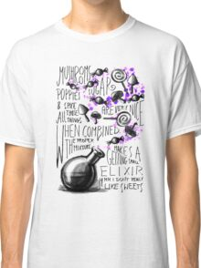 Mushrooms, popies, sugar and spice... Classic T-Shirt