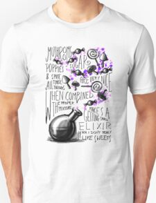 Mushrooms, popies, sugar and spice... T-Shirt