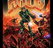 Doom/Halo by nievaso