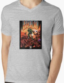 Doom/Halo Mens V-Neck T-Shirt