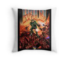 Doom/Halo Throw Pillow