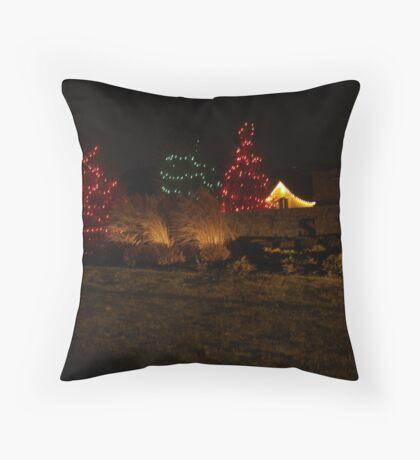 Holiday Night Shots  Throw Pillow