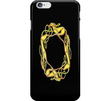 Celtic Inspired Chasing Hounds iPhone Case/Skin