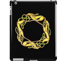 Celtic Inspired Chasing Hounds iPad Case/Skin