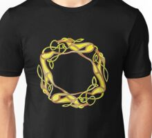Celtic Inspired Chasing Hounds Unisex T-Shirt
