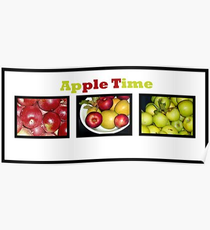 Apple Times Three Poster