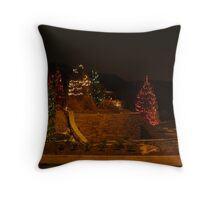 Holiday Night Shots  Throw Pillow