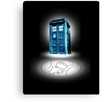 Totally Tardis  Canvas Print