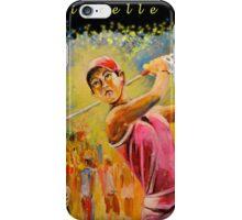 Michelle Wie Designs iPhone Case/Skin