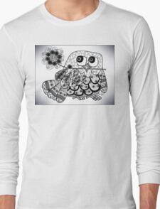 The Pretty Owl  Long Sleeve T-Shirt