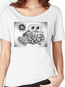 The Pretty Owl  Women's Relaxed Fit T-Shirt
