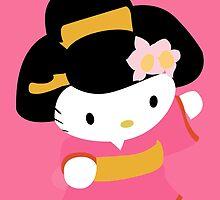 De-Su art - hello kitty by Desu-art