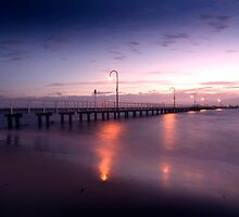 Lagoon Pier - Port Melbourne. by Mark Jones