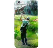 Golf In Crans-Sur-Sierre 01 iPhone Case/Skin