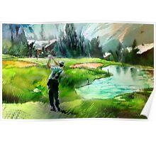 Golf In Crans-Sur-Sierre 01 Poster