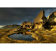 Golden Arch Rock Afternoon Photographic Print
