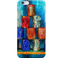 Soup Cans - Square Meal iPhone Case/Skin