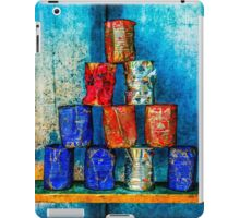 Soup Cans - Square Meal iPad Case/Skin