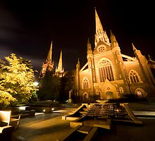 St.Patricks Cathedral by Mark Jones