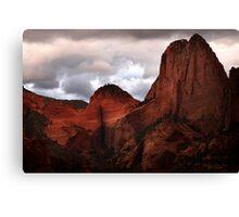Kolob Canyon, Zion National Park Canvas Print