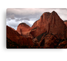 Kolob Canyon, Zion National Park, Utah Canvas Print