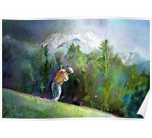Golf In Crans-Sur-Sierre 02 Poster
