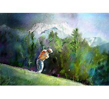 Golf In Crans-Sur-Sierre 02 Photographic Print