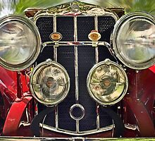1929 Franklin - Front View by cclaude