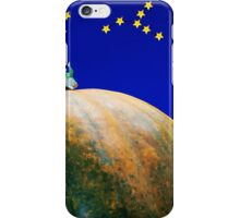 Star Watching On Pumpkin iPhone Case/Skin