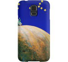 Star Watching On Pumpkin Samsung Galaxy Case/Skin