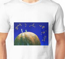Star Watching On Pumpkin Unisex T-Shirt