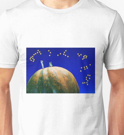 Star Watching On Pumpkin Unisex T-Shirt