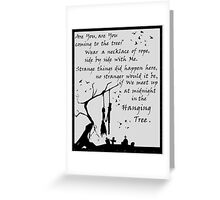 Song by Katniss - HG Greeting Card